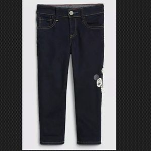 Gap Boys 18 24 2T 4T Disney Mickey Mouse Jeans